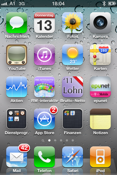RWi-Pad bzw. RWi-Phone