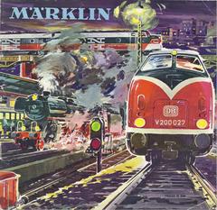 1962-63 Märklin Katalog DE