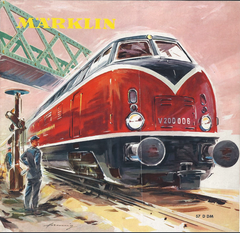1957 Märklin Katalog DE  - 60 Seiten