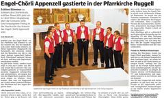 Lokalzeitung, Volksblatt, 23. April 2012
