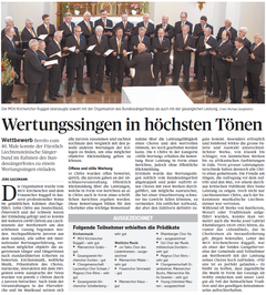 Lokalzeitung, Volksblatt, 25. Juni 2012