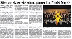 Lokalzeitung, Vaterland, 18. Juni 2012