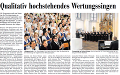 Lokalzeitung, Vaterland, 25. Juni 2012