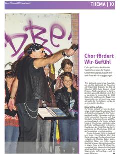 Lokalzeitung, Liewo, 29. Januar 2012
