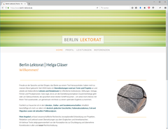 Berlin Lektorat | Helga Gläser