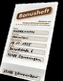 Bonusheft: Bares Geld wert! (© Doc S)Dr. Udo Goedecke. Zahnarzt in Osnabrück