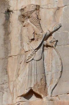 Le roi Xerxès 1er est le roi Assuérus dans la Bible, d'une richesse considérable, époux de la reine Esther. Daniel dit: il soulèvera tout le monde contre la Grèce. Il déclenche la 2ème guerre médique (-480) sa flotte est anéantie à la bataille de Salamine