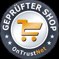 Geprüfter Shop,  Ontrustnet , zertifizierter Online-Shop, Shopsiegel