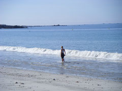 La plage des Sables Blancs