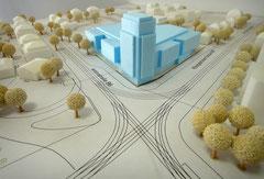 Die Planung von EDEKA am Albertplatz