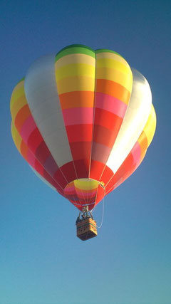 新気球Puravida(H-77)のお披露目