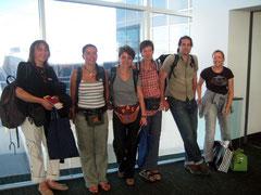 am Flughafen in Denver