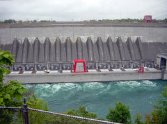 Robert-Moses-Niagara-Kraftwerk (USA-Seite)