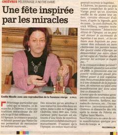 Courrier de l'Escaut 2010 - Conférence de presse - Festivités du pélerin