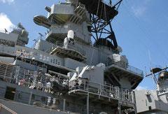 ハワイ オアフ島 パールハーバー 戦艦ミズーリ記念館