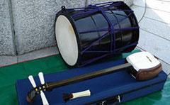 太鼓と三味線