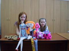 Мария Мельник и Дарья Закроева
