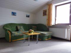 Sofa in unserer Ferienwohnung 2
