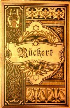 Die werke Friedrich Rückerts um 1900