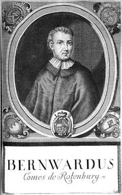 Bischof Berward zu Würzburg - auch Graf von Rotenburg genannt