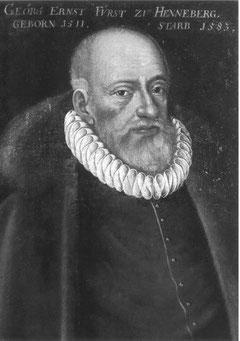 Graf Wilhelm von Henneberg