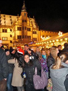 Auf dem Schweinfurter Weihnachtsmarkt