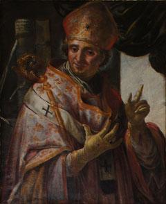 Bischof Otto v. Freising auf einem Gemälde