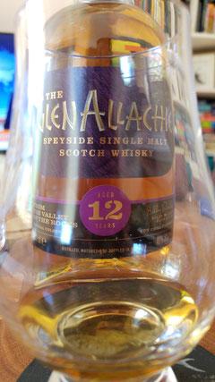 GlenAllachie 12 Jahre im Glas