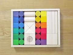 ヨーロッパ材使用色彩豊かな高級木製玩具