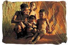 Famille San (bushmen)