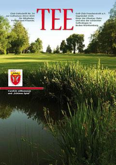 Jahres-Magazin 2015 für den Golf-Club Freudenstadt. Gesamtkonzept. Gestaltung. Abwicklung.