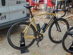 Vélo bois Gastaboy qui a participé à la course...