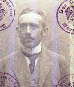 Dr. Lauterbach 1924 im PA