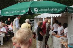 Heidefest 2014 Zühlsdorf - Kuchenbuffet der Volkssolidarität