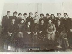 Дамдинова Л.Л. и Раднаев О.Р. с 8 в классом, 1961г