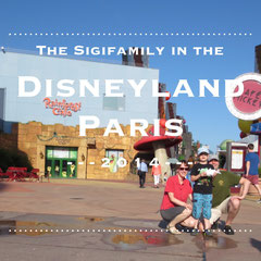 The Sigifamily in Disneyland Paris 2014