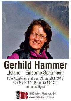 """galerie time Ausstellung Gerhild Hammer """"Isand - einsame Schönheit"""""""