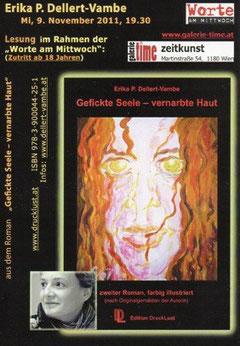 galerie time Lesung Erika P. Dellert-Vambe