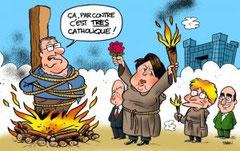 Caricature de Man dans le Midi Libre