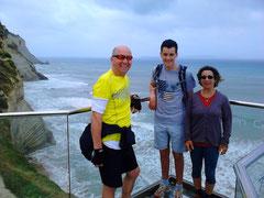 Mit Martin, Clemens und Anneke in Peroulades
