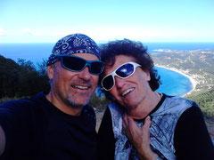 Mit Mama auf dem Chelithoni