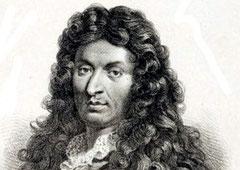 Jean-Battist Lully (zeitgenössischer Kupferstich)