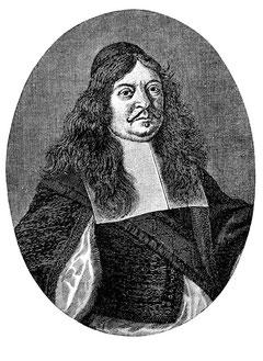 Christian Hofmann von Hofmanswaldau (zeitgenössischer Kupferstich)