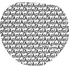 """apfel"" von Reinhard Döhl"