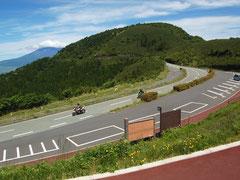 標高1005mの箱根芦ノ湖展望公園