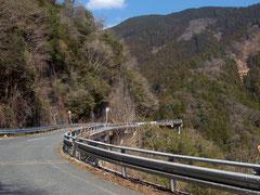 県道20でアクセス。矢作ダムはもうすぐ