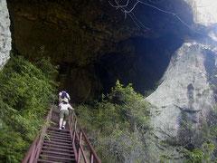 意外と知られていない乳岩洞窟