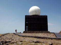 車山山頂の通称・長野レーダーまで登れる