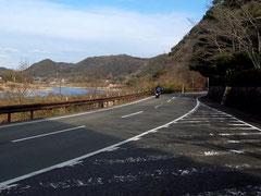 木曽川沿いの県道185が気持ち良い