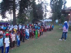 エコキャンプに参加した子どもたち